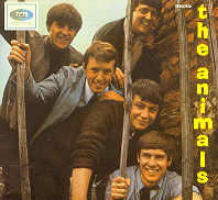 ANIMALS ~ 1st British LP
